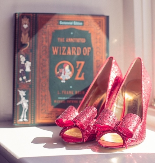 wizard of oz shoes from onefabday.co.uk
