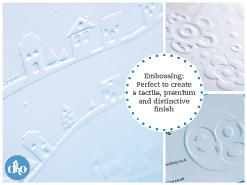 Embossing, print finish, Ditto, Sevenoaks