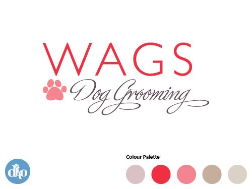 WAGS Dog Grooming Logo2