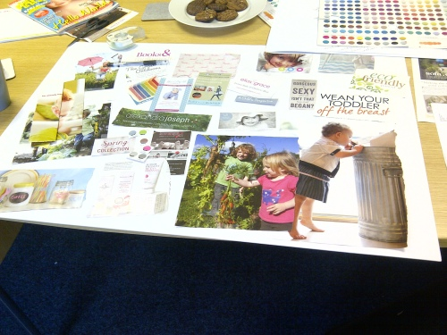 Ditto Mood Board, Sevenoaks, Brand Design