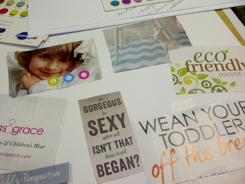 Mood board session, brand design, sevenoaks, ditto