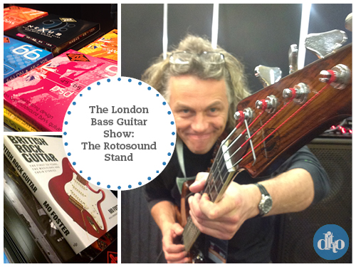Rotosound Music Strings, London Bass Guitar Show