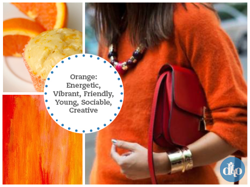 using design in colour - orange
