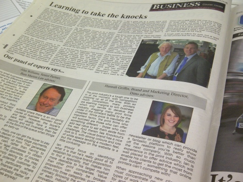 Hannah Griffin, Branding, Sevenoaks, Ditto, Kent & Sussex Courier