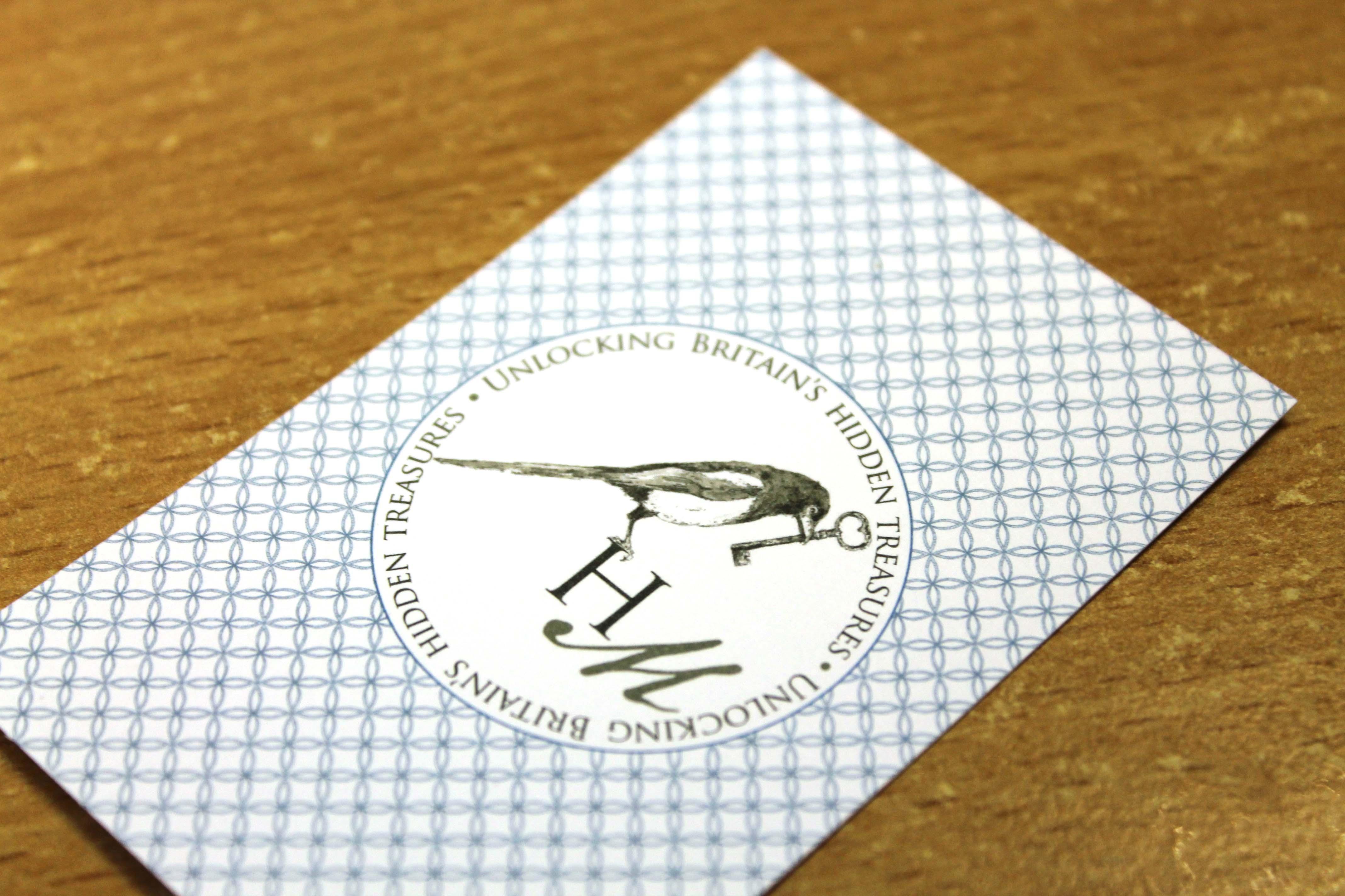 History Magpie, logo design, sevenoaks