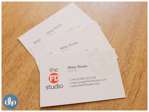The FD Studio, financial, logo design, business card design, sevenoaks