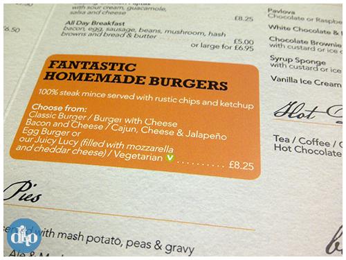 Chequers Sevenoaks menu design, ditto, pub, restaurant