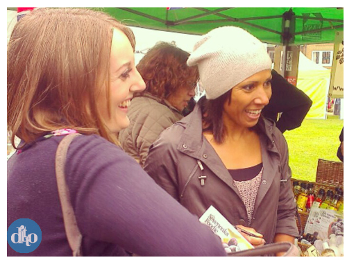 dame kelly holmes, hannah griffin, ditto, sevenoaks