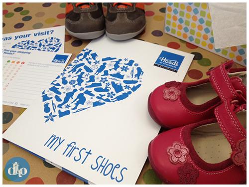 Hoads of Sevenoaks, first shoe, folder, design, children 2
