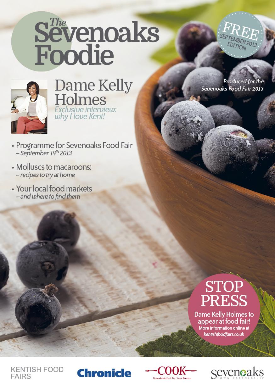 Sevenoaks Foodie Magazine cover