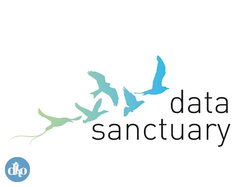 Data Sanctuary logo design by ditto, sevenoaks concept 1