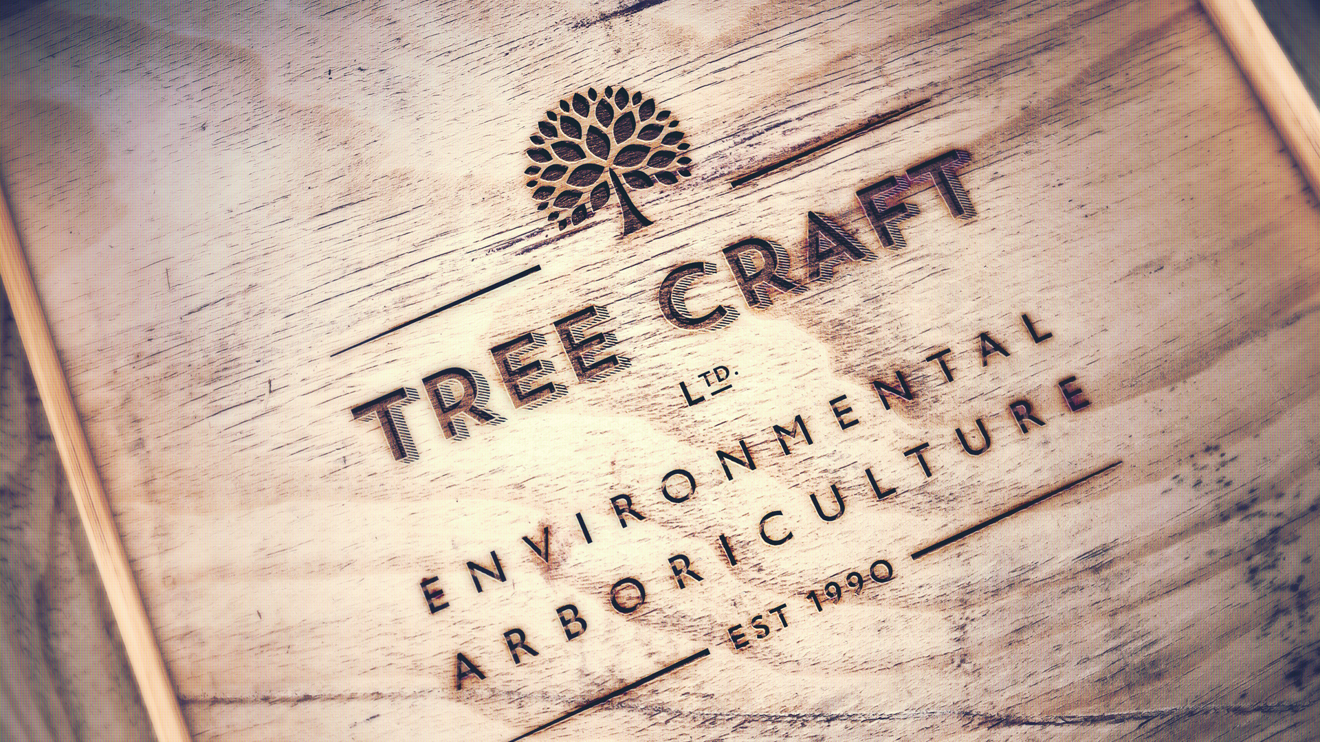 Tree Craft Sevenoaks Logo Design and Brand Identity
