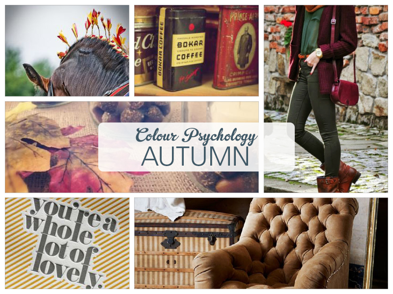 Colour Psychology - the properties of Autumn by Ditto Brand Stylists, brand design Sevenoaks, Kent
