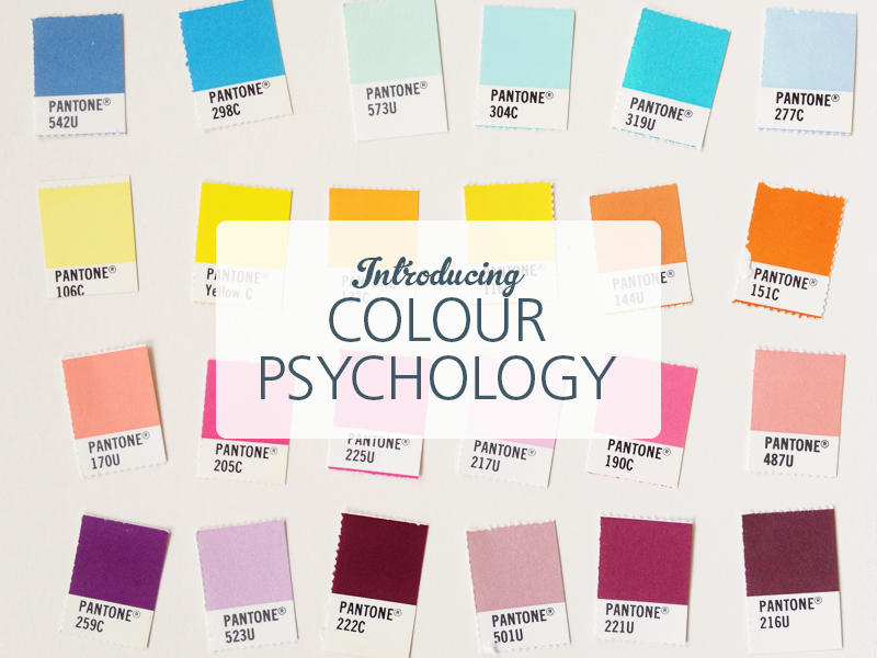 Introducing Colour Psychology: brand and logo design by Ditto, Sevenoaks, Kent