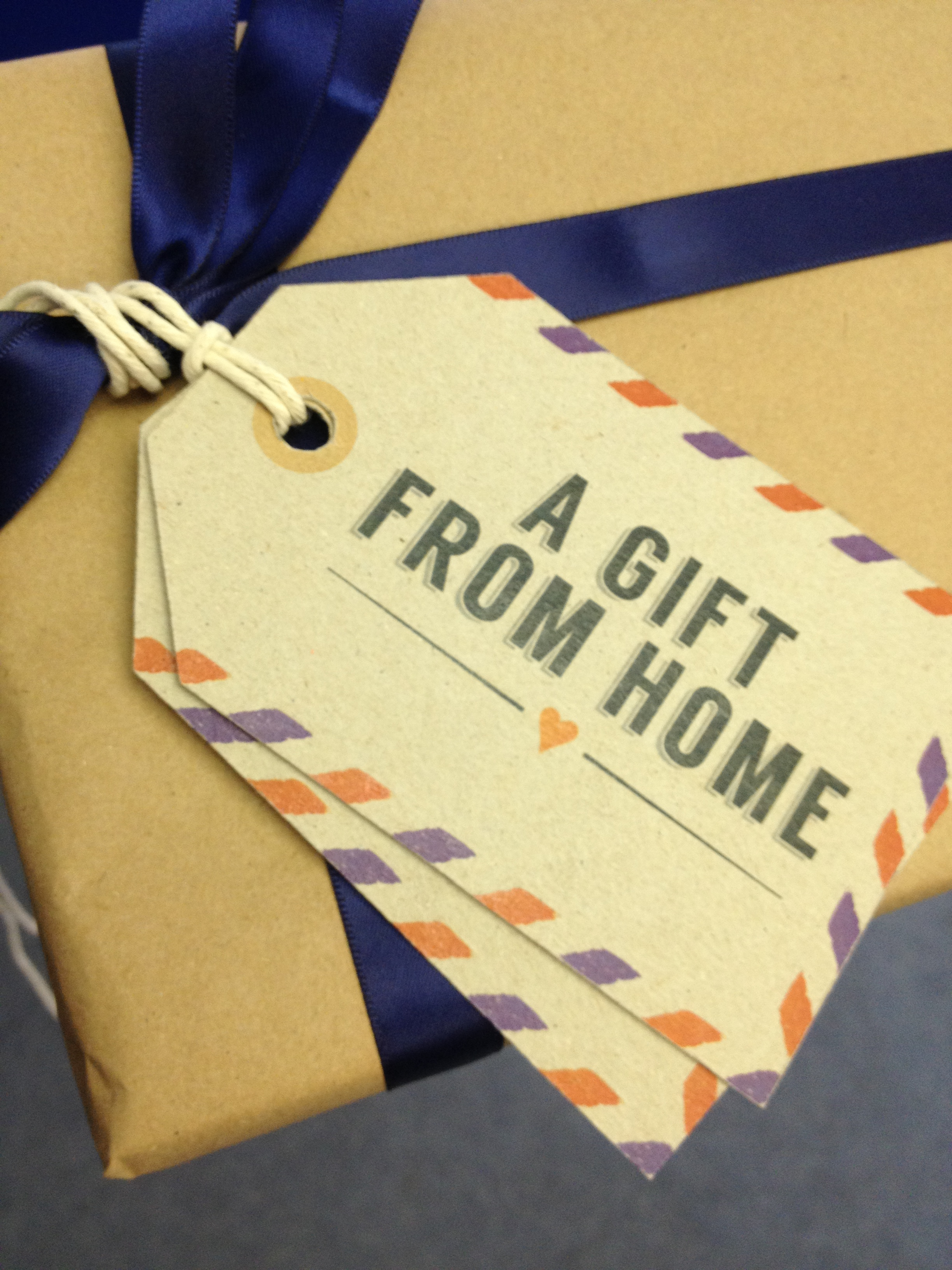 A Gift From Home logo design brand identity