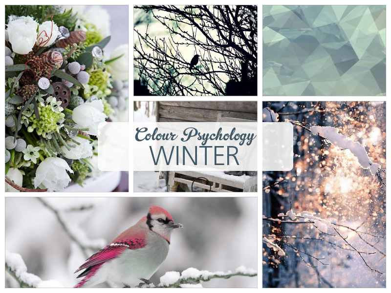 Colour Psychology - the properties of Winter by Ditto Brand Stylists, brand design Sevenoaks, Kent