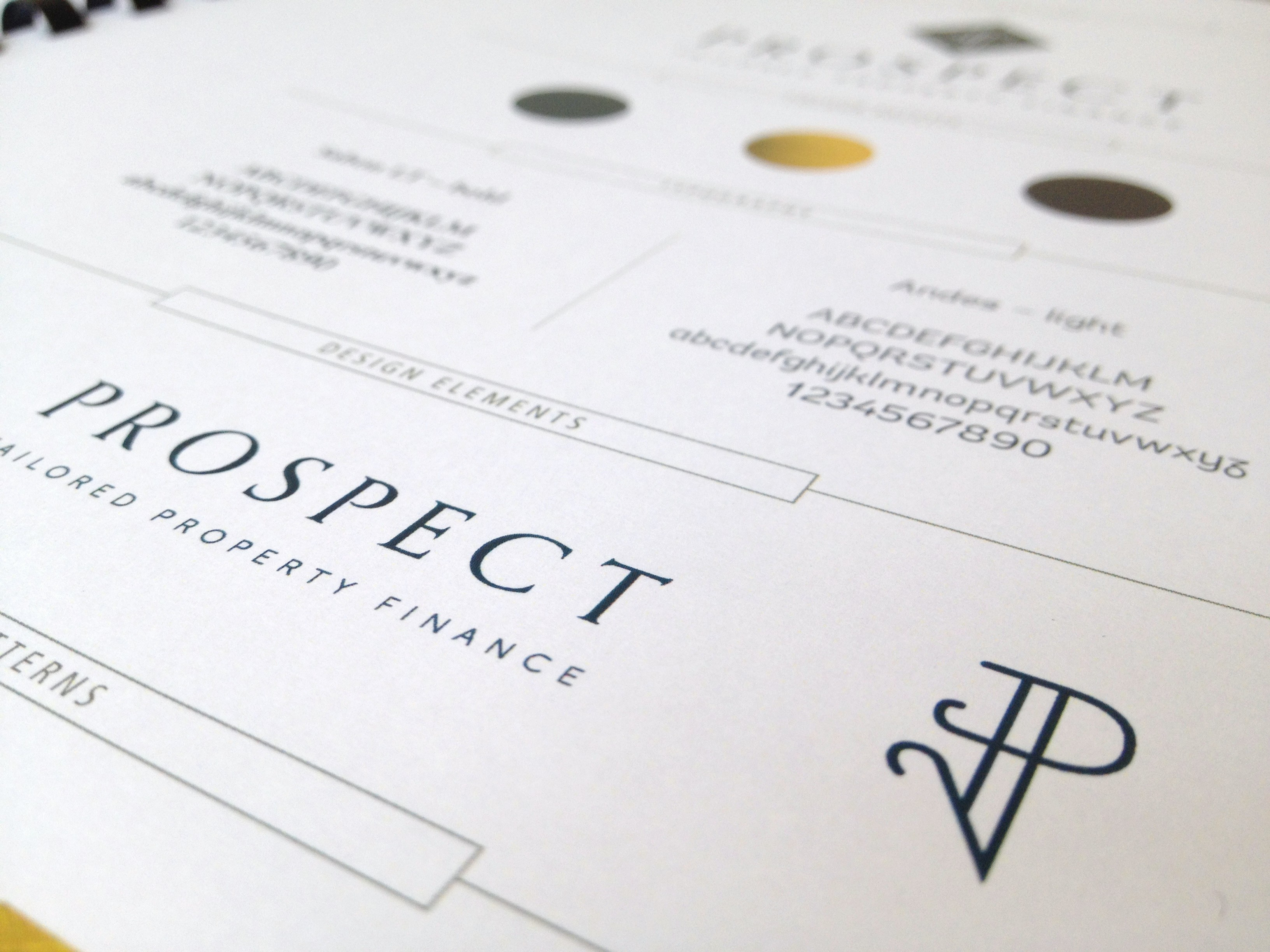 Prospect Financial Logo Design and Brand Styling by Ditto Creative
