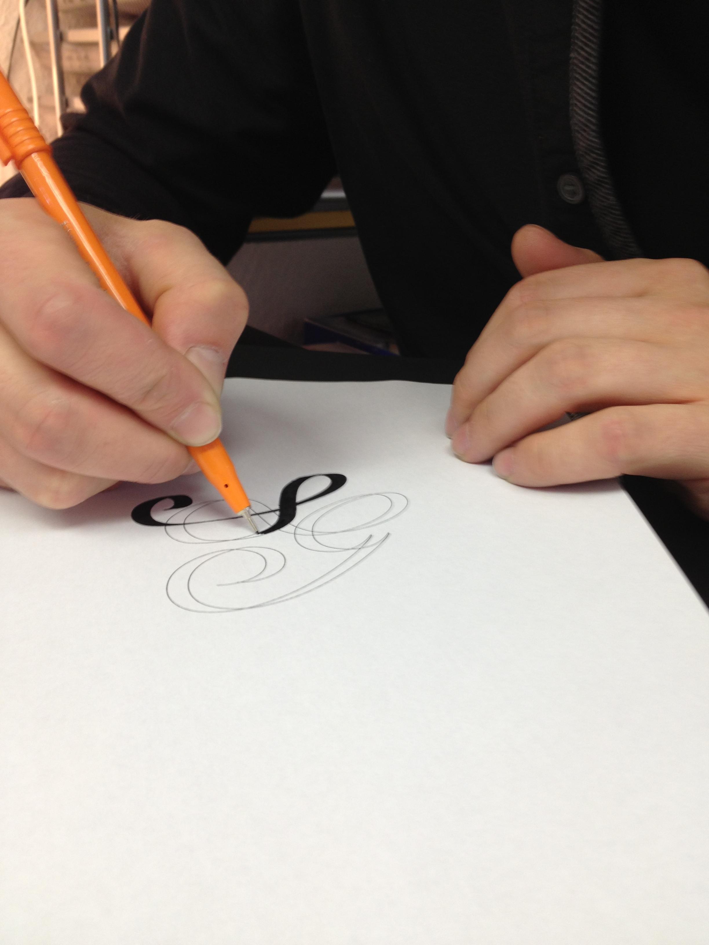 Sarah Gillmore sketches