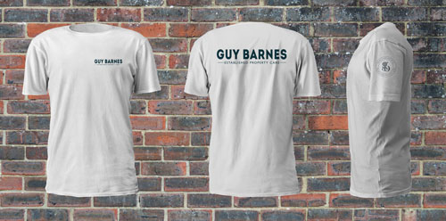 Guy Barnes logo design and brand styling by Ditto Creative