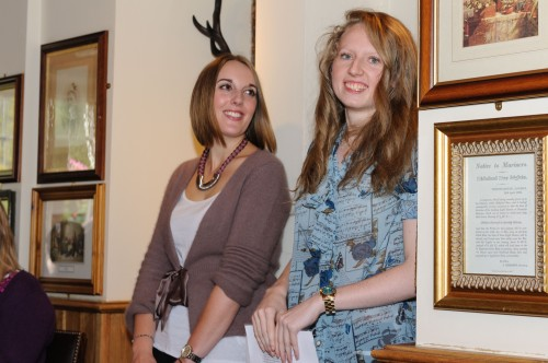 Hannah Griffin of Ditto Creative and Zoe Ashfield of The Zed Music Cafe