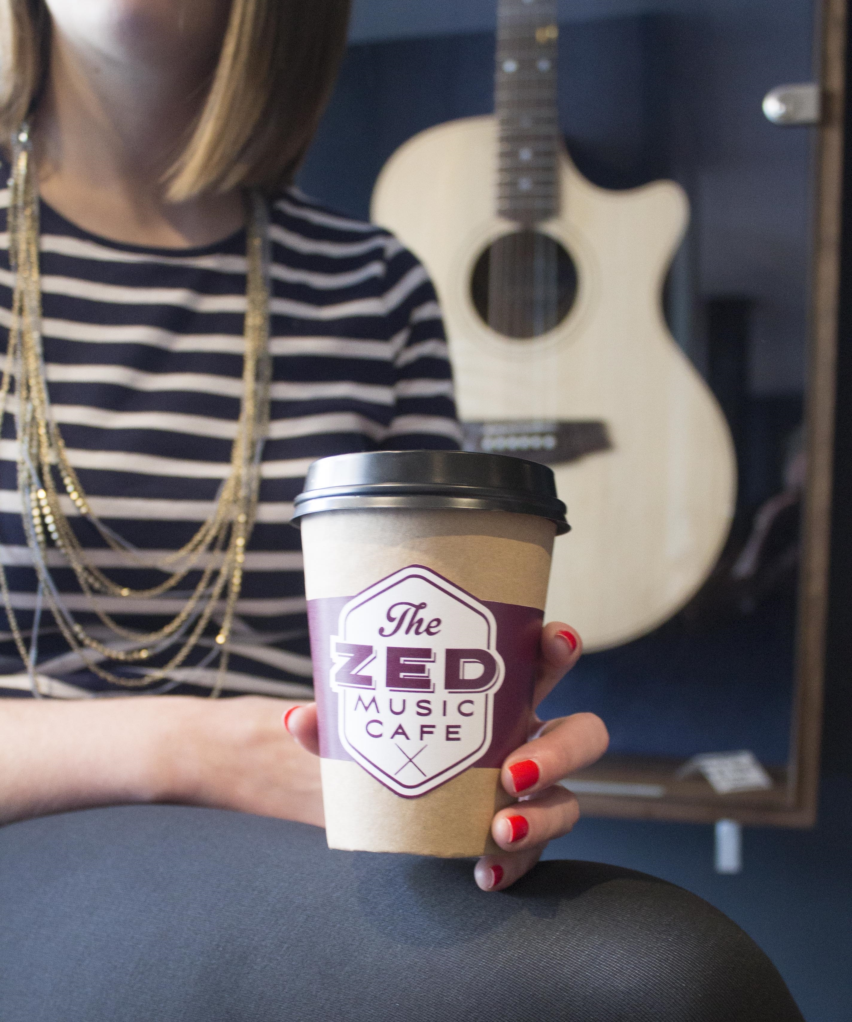 Zed Music Cafe Sevenoaks, brand design by Ditto Brand Stylists