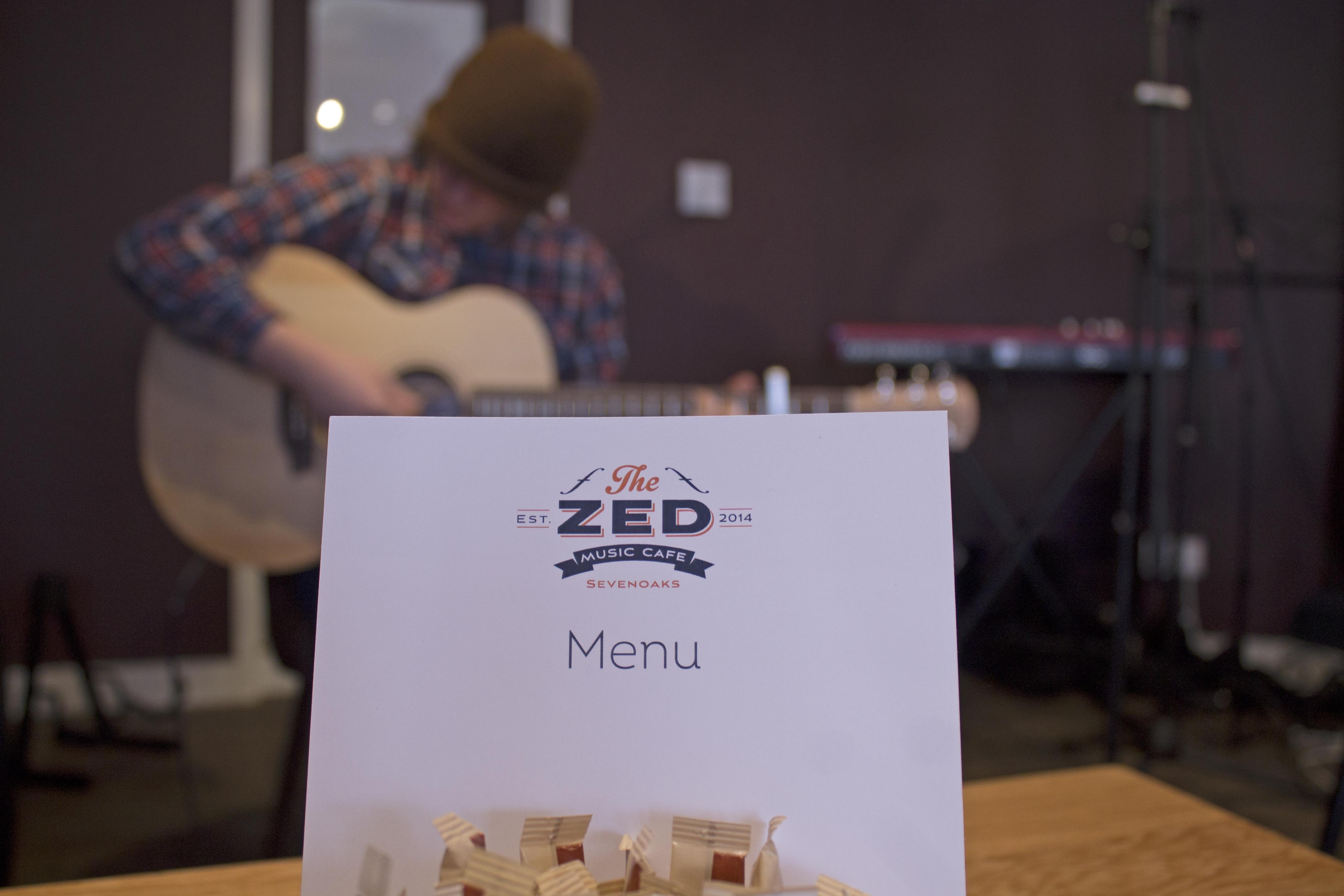 Adam Wedd, Zed Music Cafe Sevenoaks