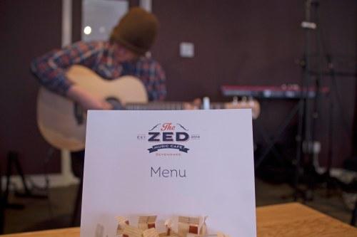 Adam Wedd, Zed Music Cafe Sevenoaks