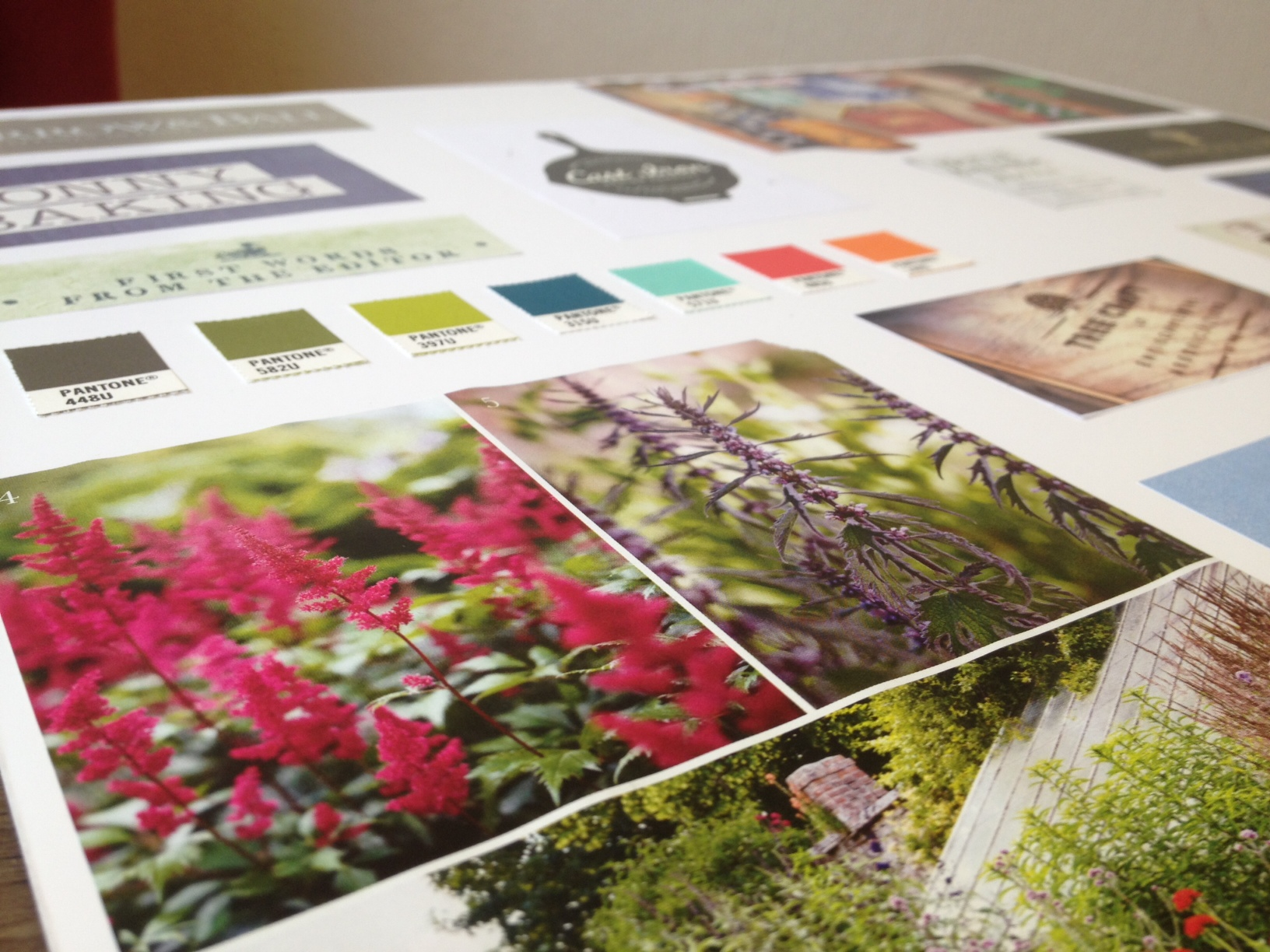 Garden Company Vision Board by Ditto Brand Stylists